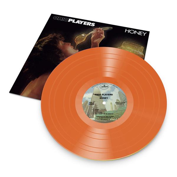 Honey (Orange Translucent Vinyl) - Ohio Players - Musik -  - 3700477825089 - August 6, 2021