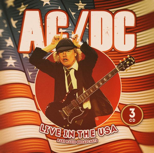 Live in the USA / Radio Broadcasts (3-cd-set) - AC/DC - Musik - LASER MEDIA - 6583817155094 - 4/12-2020
