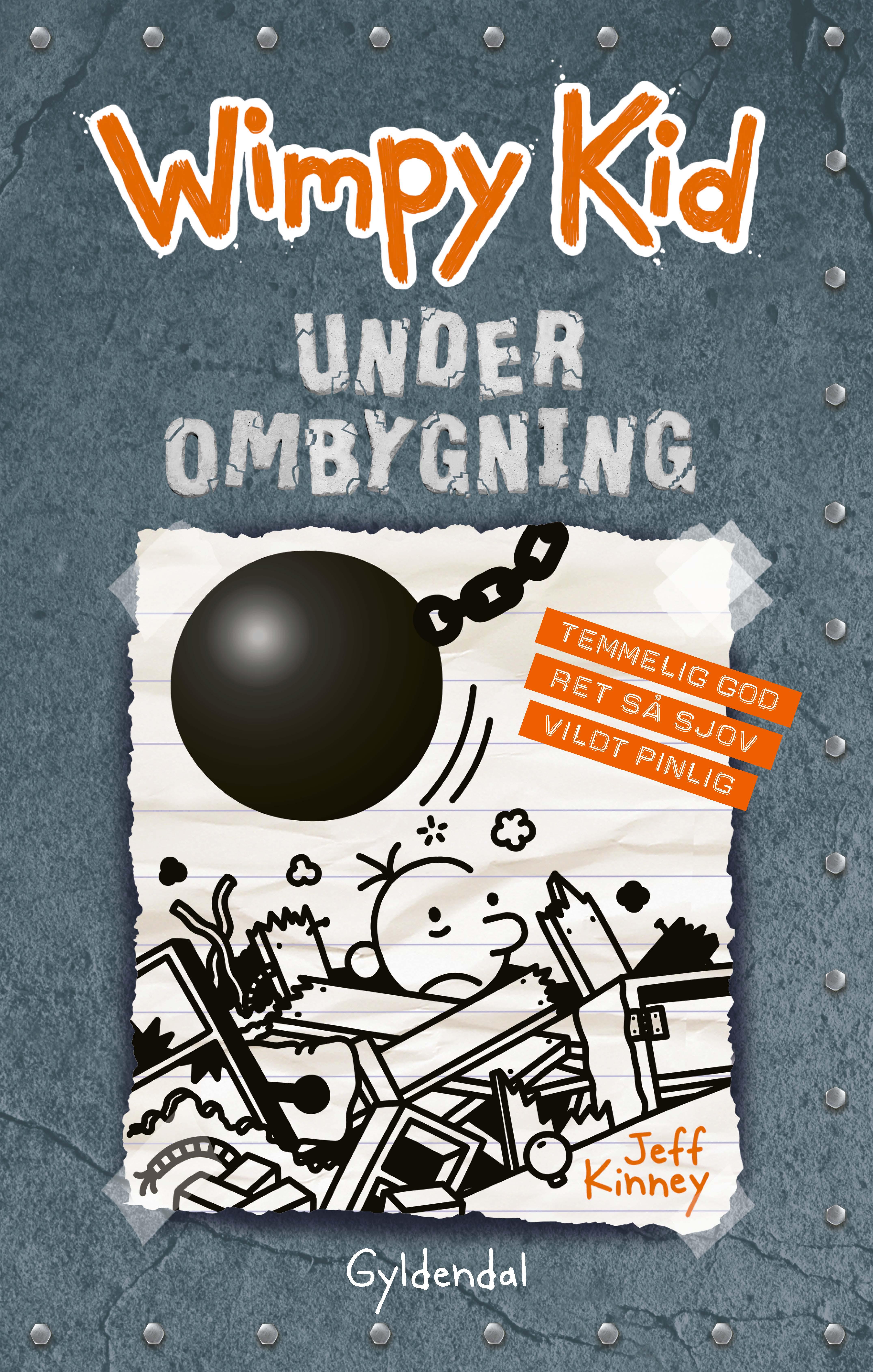 Wimpy kid: Wimpy Kid 14 - Under ombygning - Jeff Kinney - Bøger - Gyldendal - 9788702277104 - January 27, 2020