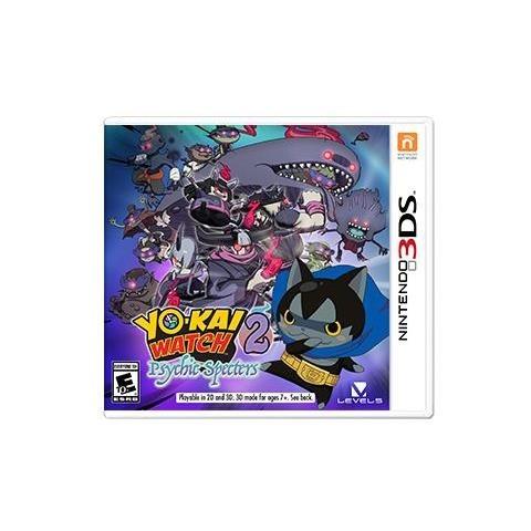 Yo-Kai Watch 2,Kr.Seelen.N3DS.2236840 -  - Bøger -  - 0045496475109 - 7/4-2017