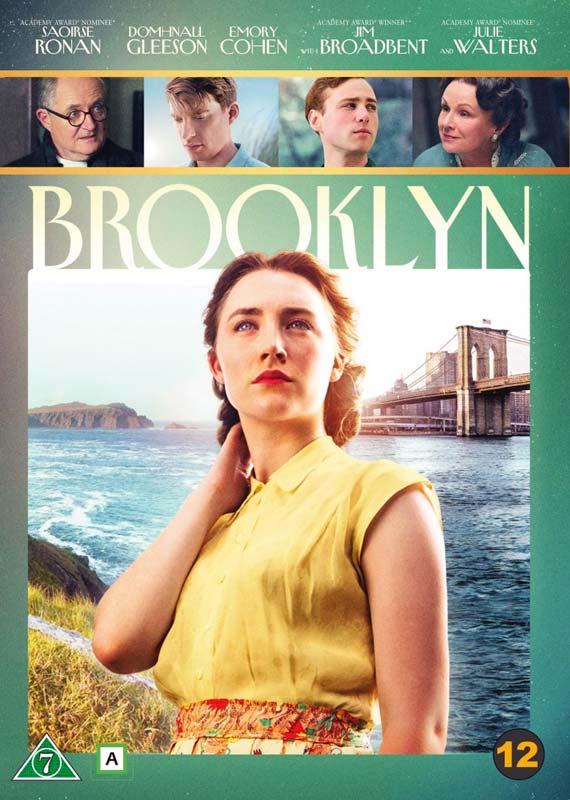 Brooklyn - Saoirse Ronan / Domhnall Gleeson / Emory Cohen / Jim Broadbent / Julie Walters - Film -  - 7340112730109 - 7/7-2016