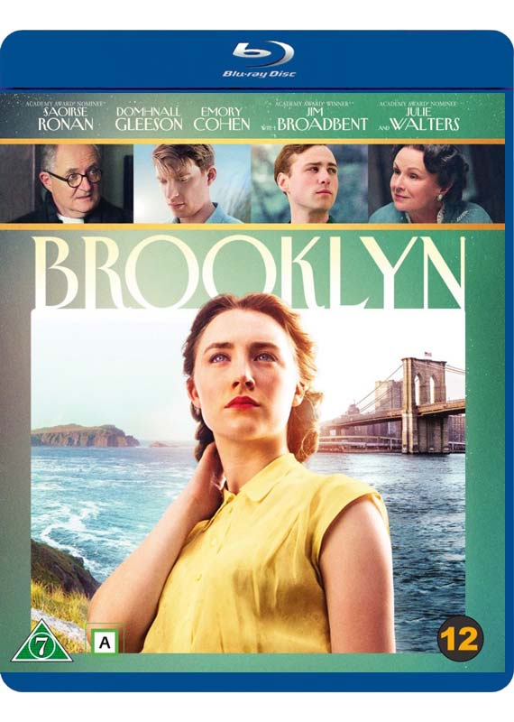 Brooklyn - Saoirse Ronan / Domhnall Gleeson / Emory Cohen / Jim Broadbent / Julie Walters - Film -  - 7340112730116 - 7/7-2016