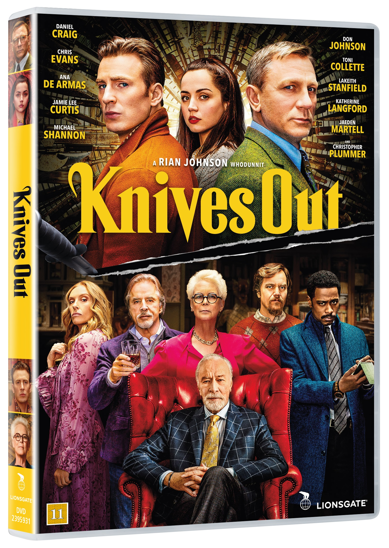 Knives out -  - Film -  - 5708758725118 - 6/4-2020