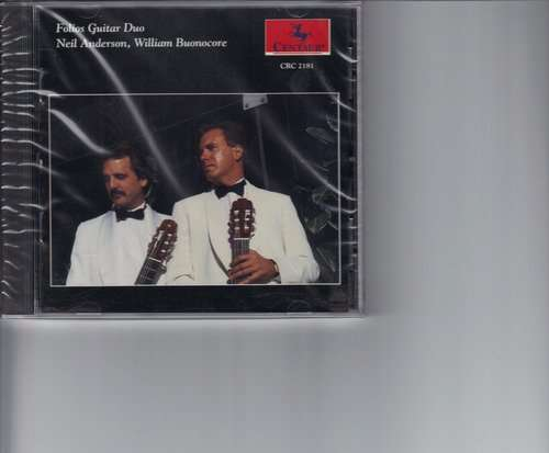 Guitar Works by Bach & Piazzolla - Folios Guitar Duo - Musik - Centaur - 0044747218120 - 17/3-1995