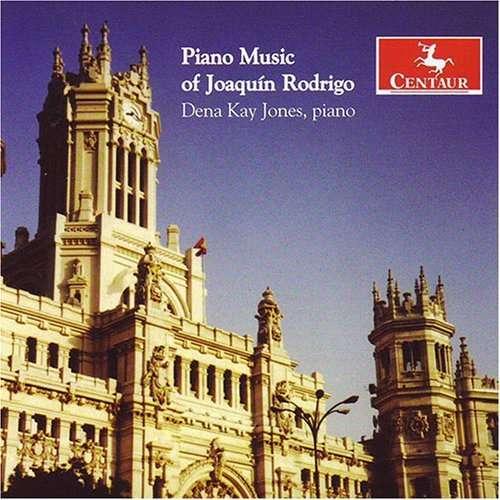 Piano Music - Rodrigo / Jones - Musik - Centaur - 0044747289120 - October 30, 2007