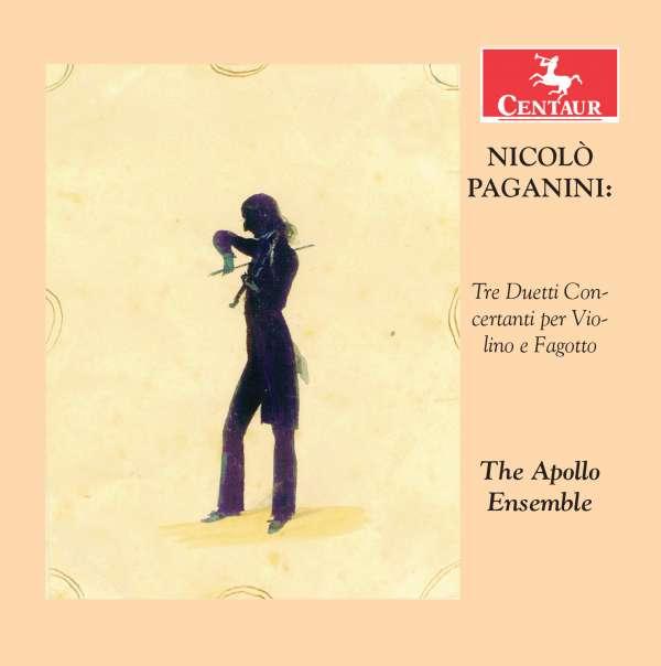Tre Duetti Concertanti Per Violino E Fagotto - N. Paganini - Musik - CENTAUR - 0044747346120 - September 1, 2016