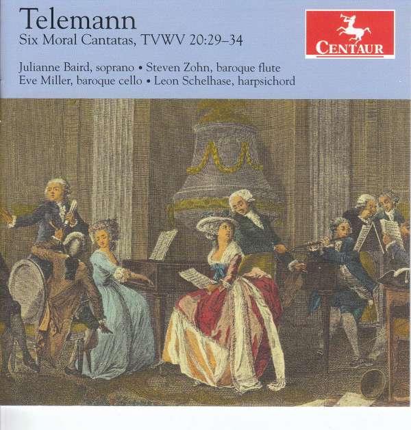 Six Moral Cantatas - G.p. Telemann - Musik - CENTAUR - 0044747359120 - May 4, 2018