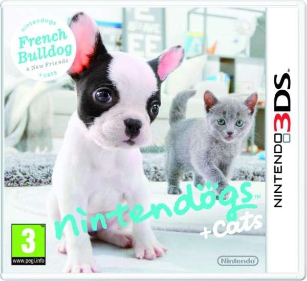 Nintendogs+Cats,Franz.Nint.3DS.2220140 -  - Bøger -  - 0045496520120 -