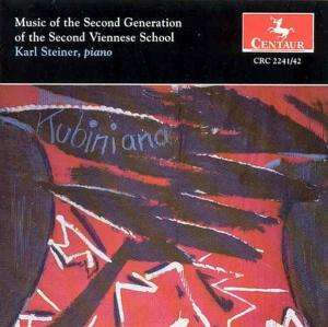 Music of the 2nd Generation of the 2nd Viennese - Steiner / Schloss / Apostel / Jelinek / Steuermann - Musik - Centaur - 0044747224121 - 20/6-1995