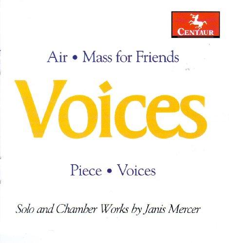 Voices: Solo & Chamber Works - Mercer / Robair / Schwungvoll Ensemble / Stoddard - Musik - Centaur - 0044747295121 - June 30, 2009