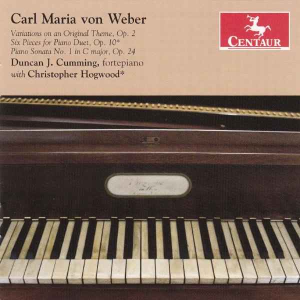Carl Maria Von Weber - C.m. Von Weber - Musik - CENTAUR - 0044747323121 - 30/4-2013