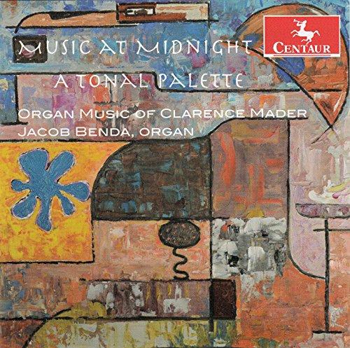 Music at Midnight-a Tonal Palette - Mader / Benda - Musik - Centaur - 0044747336121 - 11/11-2014