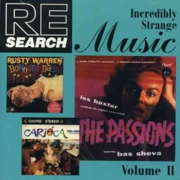 Re/search: Incredibly Strange Music Vol.2 -  - Musik -  - 0753027095121 -