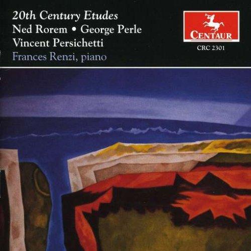 20th Century Etudes - Rorem / Perle / Persichetti / Renzi - Musik - Centaur - 0044747230122 - 12/8-2000