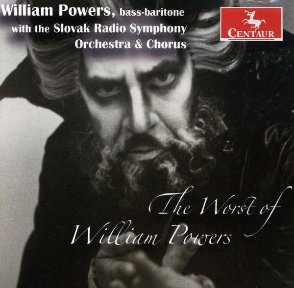 Worst of William Powers - Slovak Radio Symphony Orchestra - Musik - CENTAUR - 0044747300122 - March 21, 2012