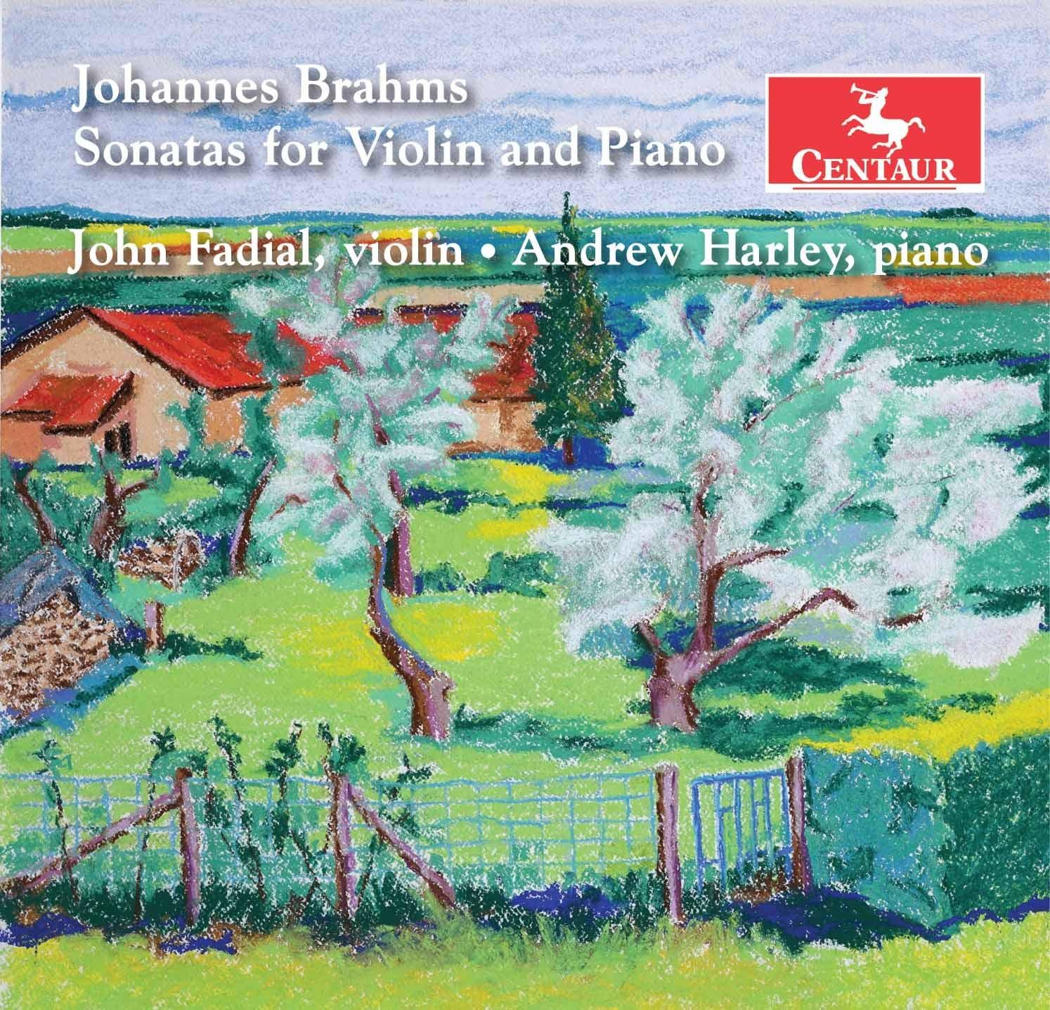 Sonatas for Violin & Piano - Brahms / Fadial / Harley - Musik -  - 0044747371122 - October 4, 2019