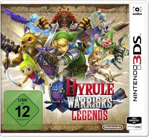Hyrule Warriors 3DS:Legends.2232740T -  - Bøger -  - 0045496472122 -