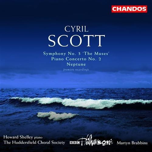 Symphony No.3/piano Concerto 2 - C. Scott - Musik - CHANDOS - 0095115121122 - 13. april 2004