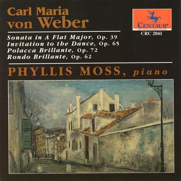 Piano Sonatas Opp. 39/65/72/62 - P. Moss - Musik - CENTAUR - 0044747204123 - 30/4-2014