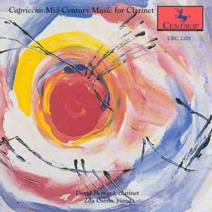 Capriccio / Music for Clarinet - Howard,david / Poulenc - Musik - CENTA - 0044747220123 - 15/4-2000