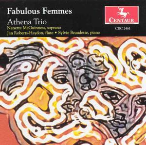 Fabulous Femmes - Apena Trio - Musik - CENTAUR - 0044747246123 - 1/7-2000