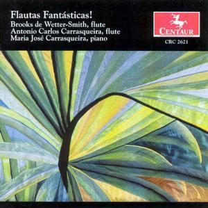 Flauta Fantasticas - Schocker / Kuhlau / Bach - Musik - CENTAUR - 0044747262123 - 11/2-2005