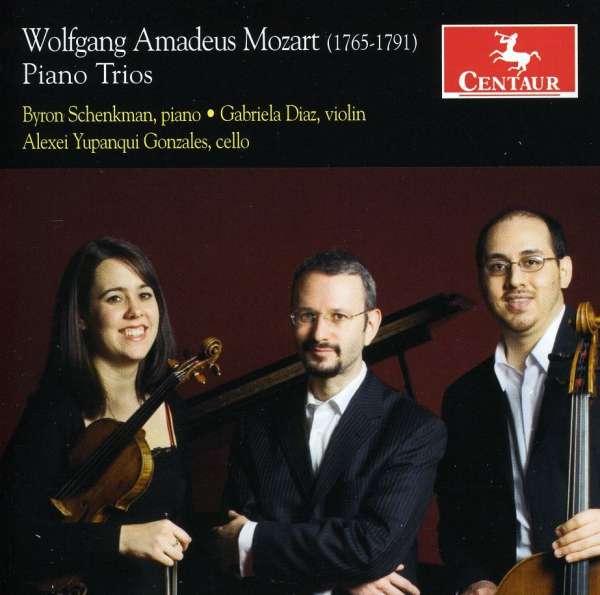 Piano Trios - Wolfgang Amadeus Mozart - Musik - CENTAUR - 0044747303123 - July 20, 2015