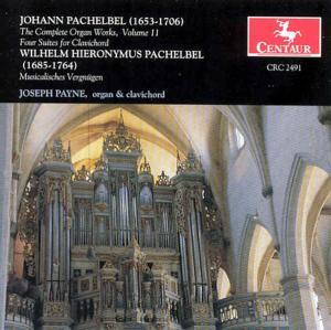 Complete Organ Works 11 - Pachelbel, J. & W.h. - Musik - CENTAUR - 0044747249124 - 2004