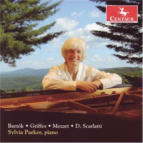Three Sonatas - Scarlatti / Mozart / Griffes / Bartok / Parker - Musik - Centaur - 0044747281124 - 30/1-2007