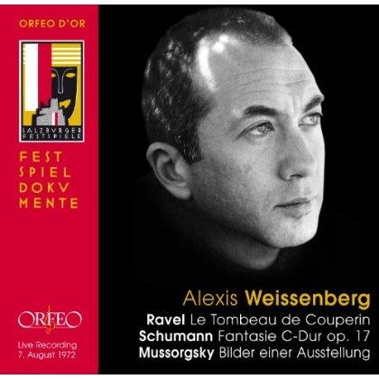 Soistenkonzert Salzburg Festival 1972 - Ravel / Weissenberg,alexis - Musik - ORFEO - 4011790869124 - 29. Januar 2013