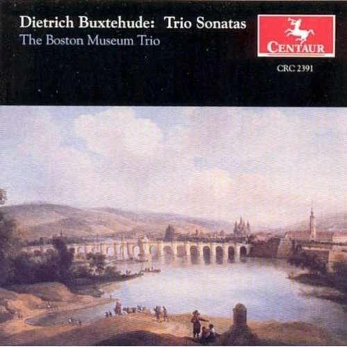 Trio Sonatas I-vii - D. Buxtehude - Musik - CENTAUR - 0044747239125 - 4/8-1999