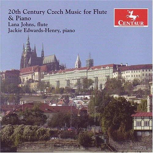 20th Century Czech Music for Flute & Piano - Eben / Drizga / Feld / Johns / Edwards-henry - Musik - Centaur - 0044747284125 - 30/10-2007