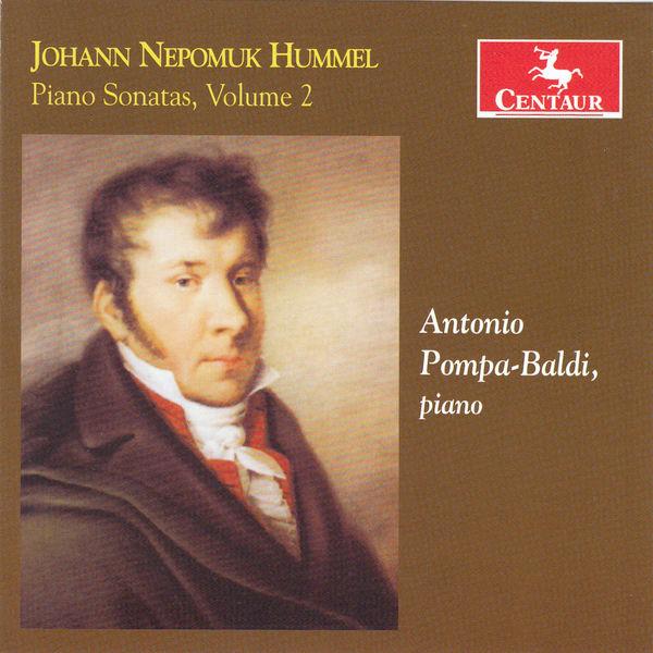 Piano Sonatas Vol.2 - Antonio Pompa-baldi - Musik - CENTAUR - 0044747341125 - 8/7-2015