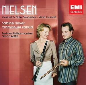 Nielsen: Clarinet & Flute Conc - Sabine Meyer / Emmanuel Pahud/Si - Musik - PLG UK Classics - 0094639442126 - 8/11-2013