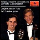 Transcriptions & Original Works for Vio. & Guitar - Bartok / Giuliani / Haslop / Sanders - Musik - Centaur - 0044747206127 - 4/11-1993
