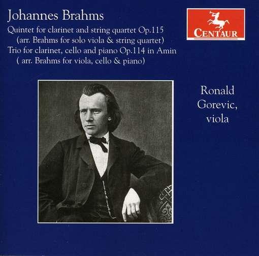 Klarinettenwerke Arrangiert Fur Viola - J. Brahms - Musik - CENTAUR - 0044747305127 - April 27, 2011