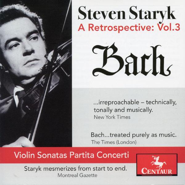 Retrospective Vol.3 - J.s. Bach - Musik - CENTAUR - 0044747321127 - 11/4-2013