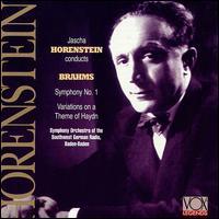 Symphony No.1 - J. Brahms - Musik - VOXBOX - 0047163780127 - 30/6-1990