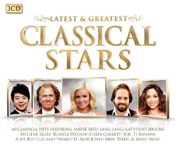 Classical Stars - Latest - V/A - Musik - LATEST FLAME - 0698458936127 - 23/10-2015