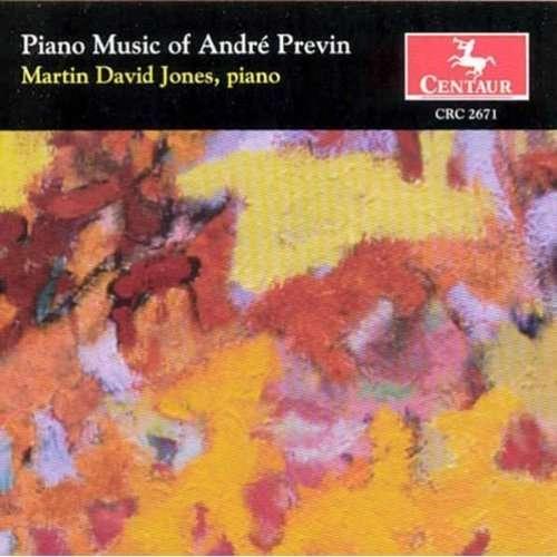 Piano Music - Previn / Jones - Musik - CENTA - 0044747267128 - 27/7-2004