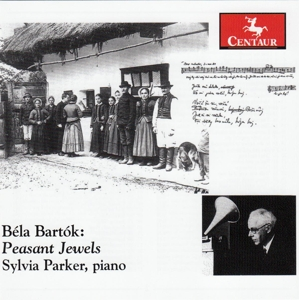 Peasant Jewels - B. Bartok - Musik - CENTAUR - 0044747340128 - April 28, 2015