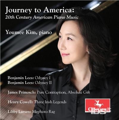 Journey to America: 20th Century American - Cowell / Larsen / Lees / Kim - Musik - CAV - 0044747353128 - May 5, 2017