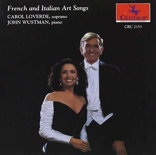 French & Italian Art Songs - Wustman,john / Loverde,carol - Musik - Centaur - 0044747215129 - 1/2-1994