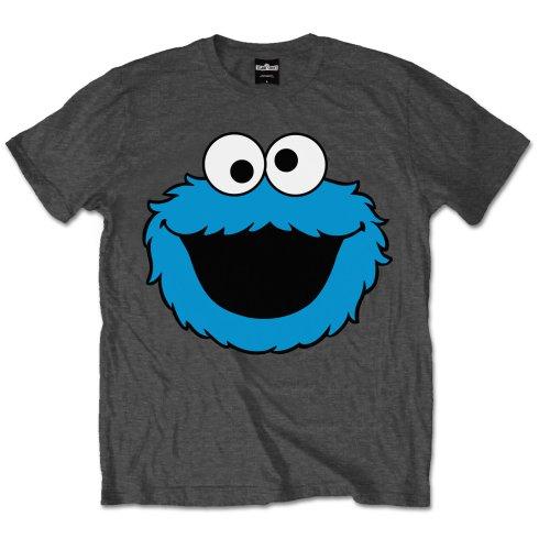 Sesame Street Unisex T-Shirt: Cookie Head - Sesame Street - Merchandise - Out of License - 5055295360136 -