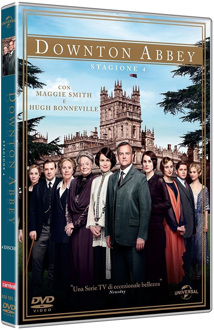 Downton Abbey - Stagione 04 - Carter,bonneville,james-collier,dockery,froggatt,mcshera,nicol,finneran - Film - Universal Pictures - 5053083050139 -
