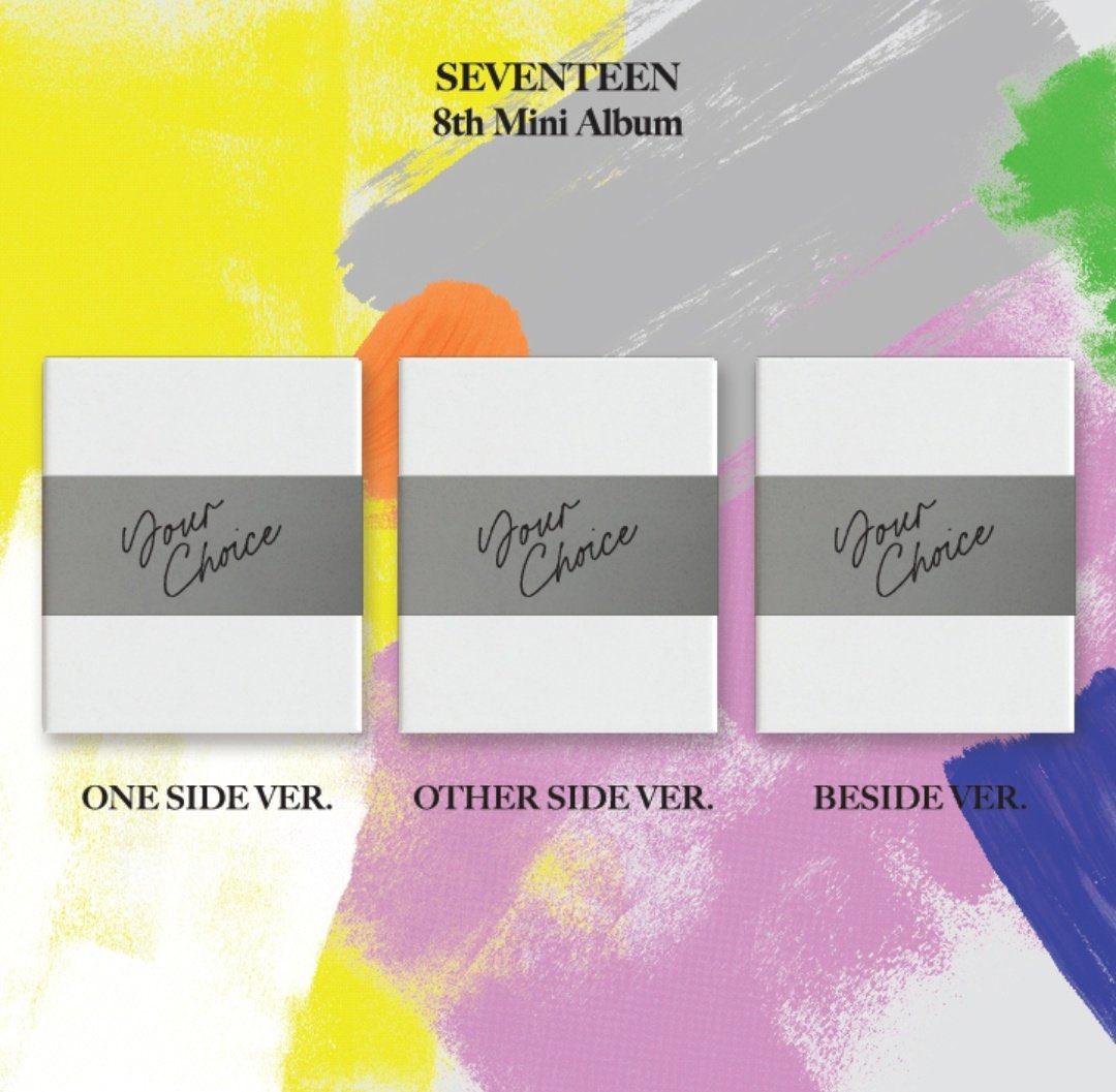 8TH MINI ALBUM `YOUR CHOICE`   - BUNDLE! - SEVENTEEN - Musik -  - 9957226725143 - June 24, 2021
