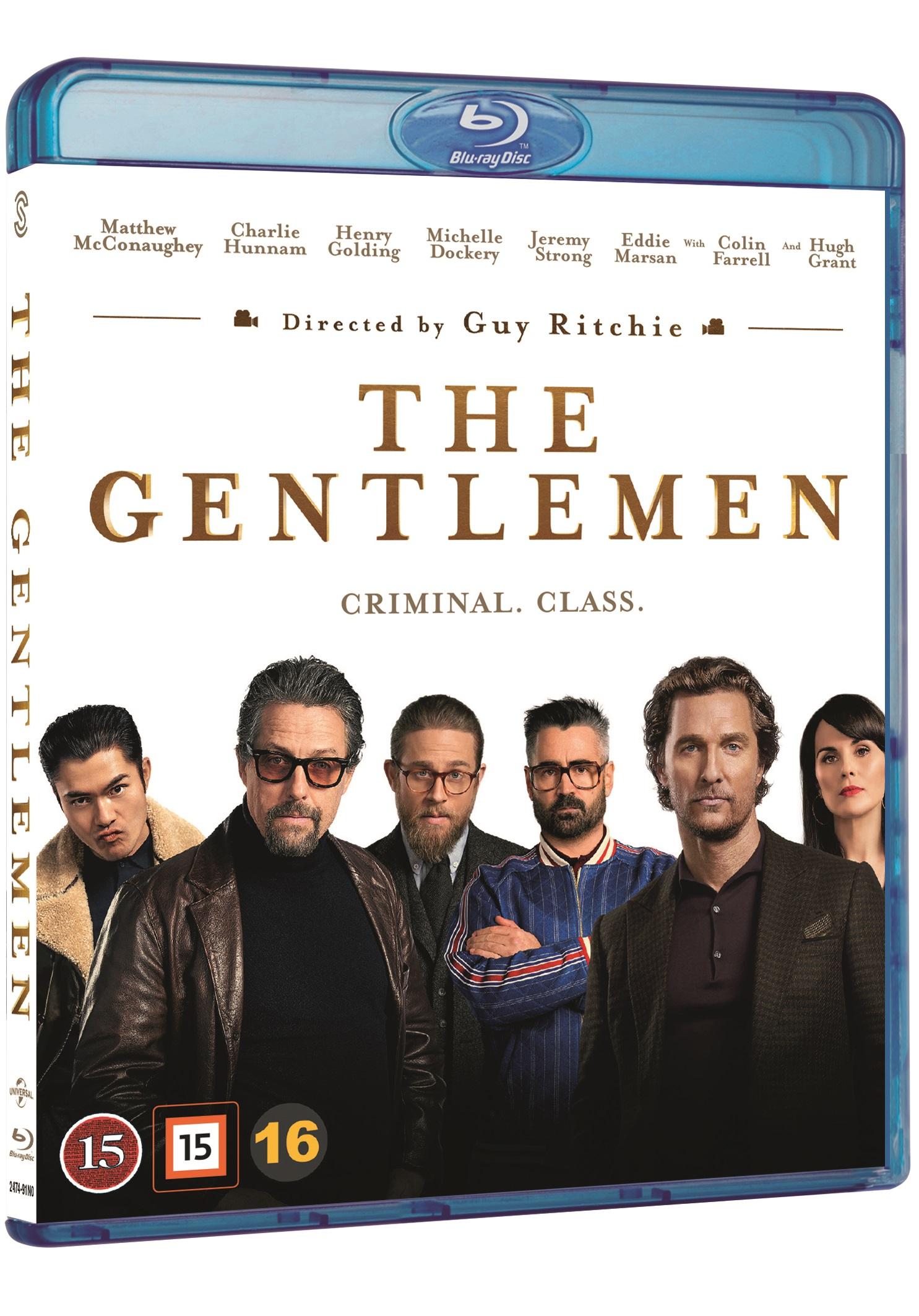 The Gentlemen - Guy Ritchie - Film -  - 5706169003146 - July 13, 2020