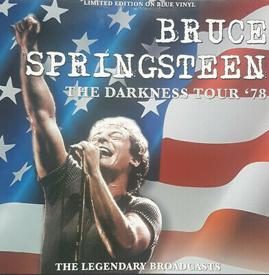 The Darkness Tour (Red White & Blue Vinyl) - Bruce Springsteen - Musik - CODA PUBLISHING LIMITED - 5060420346152 - February 26, 2021