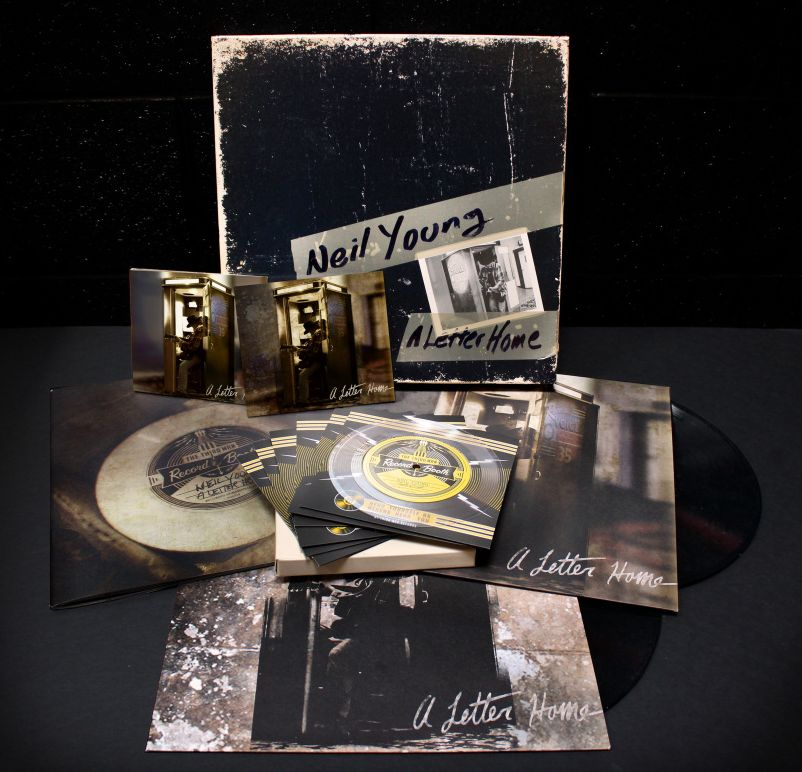 A Letter Home (Box Set) - Neil Young - Musik - WEA - 0093624939153 - May 27, 2014