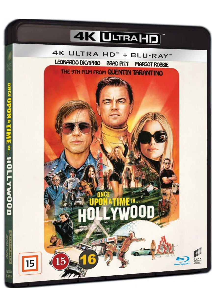 Once Upon a Time in Hollywood - Quentin Tarantino - Film -  - 7330031007161 - 27. desember 2019